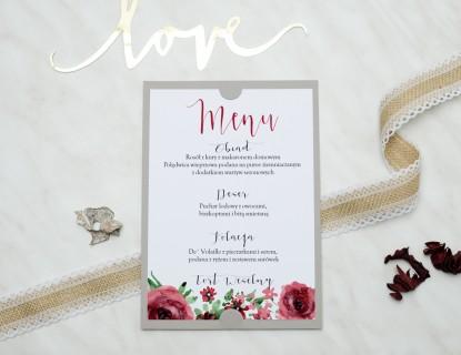 unikalne menu na ślub i wesele