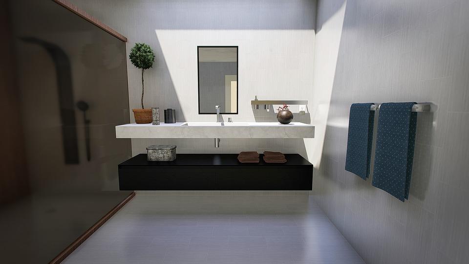 urządzenie łazienki w nowoczesnym stylu